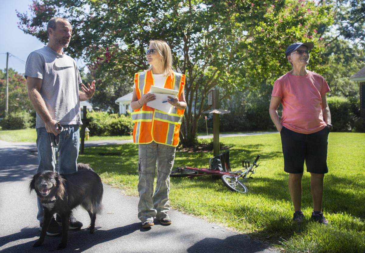 Flooding Task Force Tours Charleston, Dorchester Neighborhoods to Find Simple Fixes
